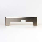 Stainless steel face plate for special inlet PLZ